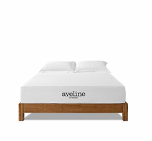 "Aveline 10"" Full Mattress, White [FREE SHIPPING]"