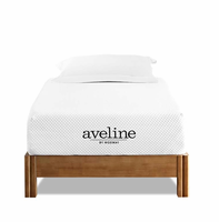 "Aveline 10"" Twin Mattress, White [FREE SHIPPING]"