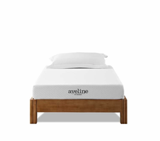 "Aveline 6"" Twin Mattress, White [FREE SHIPPING]"