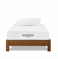 "Aveline 8"" Twin Mattress, White [FREE SHIPPING]"