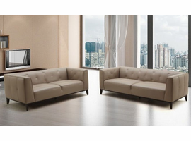 Beverly Hills CHA-solo Taupe O7803/Split Sofa and Loveseat Set