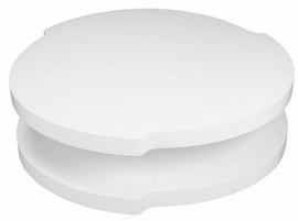 Beverly Hills Clout High Gloss White Coffee Table