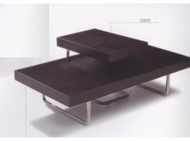 Beverly Hills CT01C Espresso Coffee Table