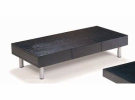 Beverly Hills CT03 Espresso Coffee Table with Drawer