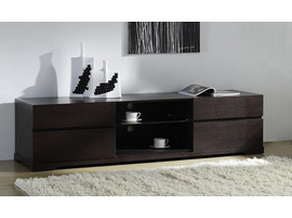 Beverly Hills Epic Pre-assembled Wenge TV Stand