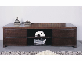 Beverly Hills Milan Pre-assembled Wenge TV SideBoard