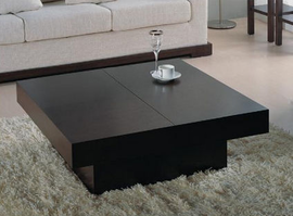 Beverly Hills Nile Square Wenge Coffee Table
