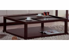 Beverly Hills Parson Wenge Coffee Table