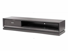 Beverly Hills Slate Black Oak TV Stand