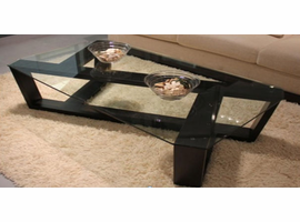 Beverly Hills Zig Wenge Coffee Table