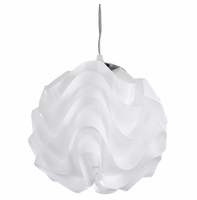 Billow Chandelier, White [FREE SHIPPING]