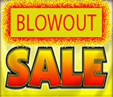 BLOWOUT CLEARANCE FLOOR MODEL ONLY LIMITED QUANTITY