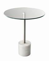 Blythe End Table, White