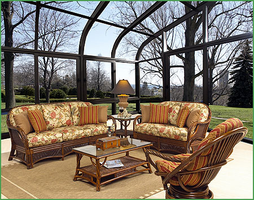 Boca Rattan Living Room Collection