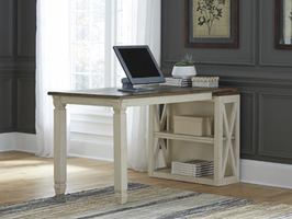 Ashley Express Furniture Bookcase Desk Return, Two-tone