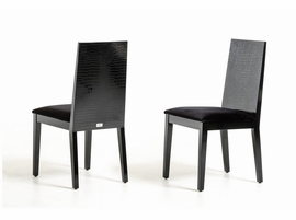 Bridget - Black Dining Chair (Set of 2)