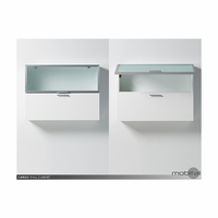 Cargo Cabinet High Gloss White