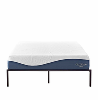"Caroline 10"" Queen Memory Foam Mattress, White [FREE SHIPPING]"