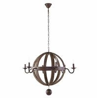 Catapult Chandelier, Antique Brass [FREE SHIPPING]