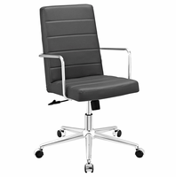 Cavalier Highback Office Chair, Gray [FREE SHIPPING]