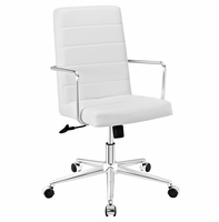 Cavalier Highback Office Chair, White [FREE SHIPPING]