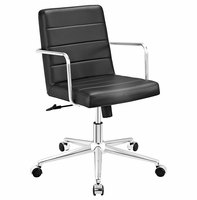 Cavalier Mid Back Office Chair, Black [FREE SHIPPING]