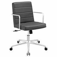 Cavalier Mid Back Office Chair, Gray [FREE SHIPPING]