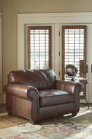 Ashley Furniture Chair and a Half, Saddle