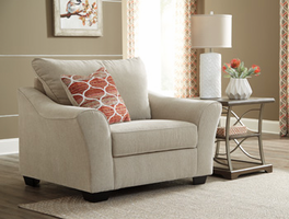 Ashley Furniture Chair and a Half, Tawny