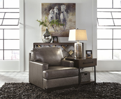 Ashley Furniture Chair, Pewter