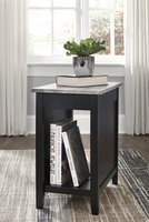 Ashley Express Furniture Chair Side End Table, Black