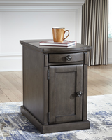 Ashley Express Furniture Chair Side End Table, Gray