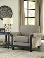 Ashley Furniture Chair, Taupe