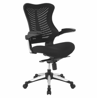 Charge Office Chair, Black [FREE SHIPPING]