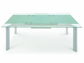 "Chemistry"" - Extendable Dining Table WHITE"