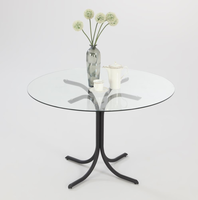 Chintaly BLACK CECE TABLE - CECE-DT-BLK