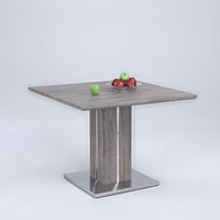 Chintaly CARINA DINING TABLE - CARINA-DT-DRK
