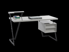 Chintaly COMPUTER Desk & Chairs-6926 - 6926-DSK