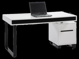 Chintaly COMPUTER Desk & Chairs-6927 - 6927-DSK
