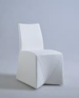 Chintaly Fully Upholstered Tuck-in Side Chair - CAMILA-SC-WHT