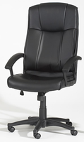 Chintaly High Back Multi Adjustable Pneumatic Gas Lift Office Chair - Black - 3776-CCH