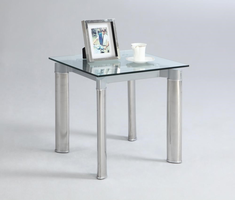 Chintaly LAMP TABLE CLEAR - TARA-LT-CLR