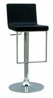 Chintaly Pneumatic Gas Lift Adjustable Height Swivel Stool BLK(0351) - 0351-AS-BLK