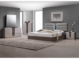 Chintaly QUEEN SIZE BED(LONDON) - LONDON-QUEEN-BED