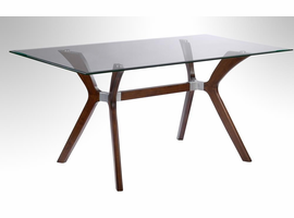 Chintaly RECTANGULAR DINING TABLE - LUISA-DT-RCT