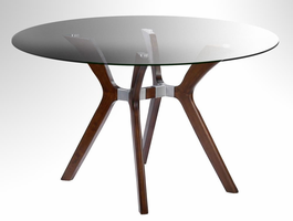 Chintaly ROUND DINING TABLE - LUISA-DT-RND