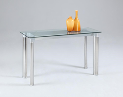 Chintaly SOFA TABLE CLEAR - TARA-ST-CLR