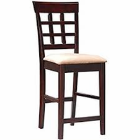 Clearance!! COUNTER STOOL (SET OF 2) 100649