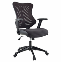 Clutch Office Chair, Black [FREE SHIPPING]