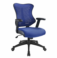 Clutch Office Chair, Blue [FREE SHIPPING]